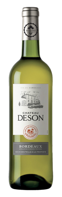 CHATEAU DESON HVE BLANC en appellation Bordeaux